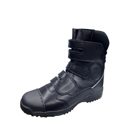ルート66安全靴 3本ベルト 黒 当日出荷