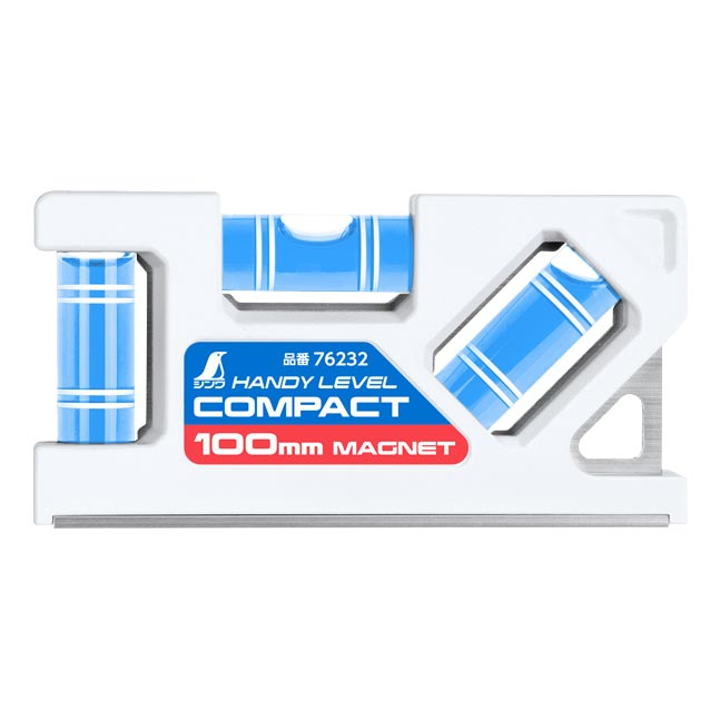 76232 ハンディレベルコンパクト 100mm マグネット付 シンワ測定 新製品