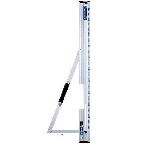 78102 丸ノコガイド定規 Tスライド たためるエルアングル 1m メートル目盛 シンワ測定