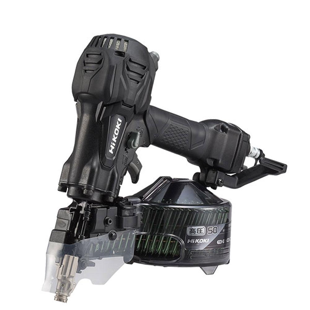 NV50HR2(SAB) 高圧ロール釘打機 限定色アブソリュートブラック ハイコーキ(日立工機) 当日出荷