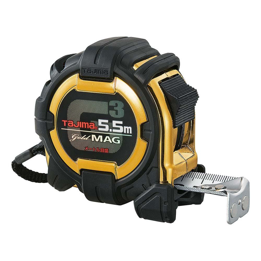 G3GLM25-55BL G3ゴールドロック マグ爪-25 5.5m メートル目盛 タジマ