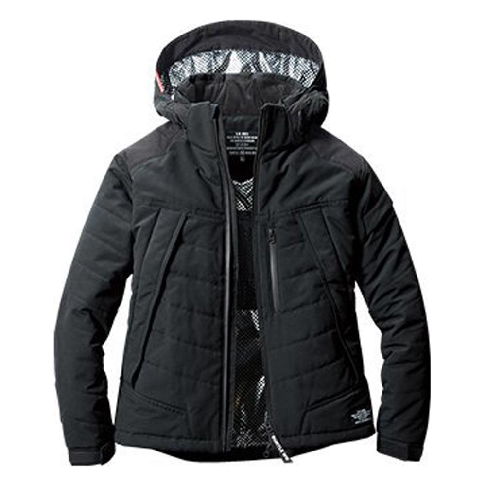 5270 防寒ジャケット(大型フード付き) ブラック バートル(BURTLE)
