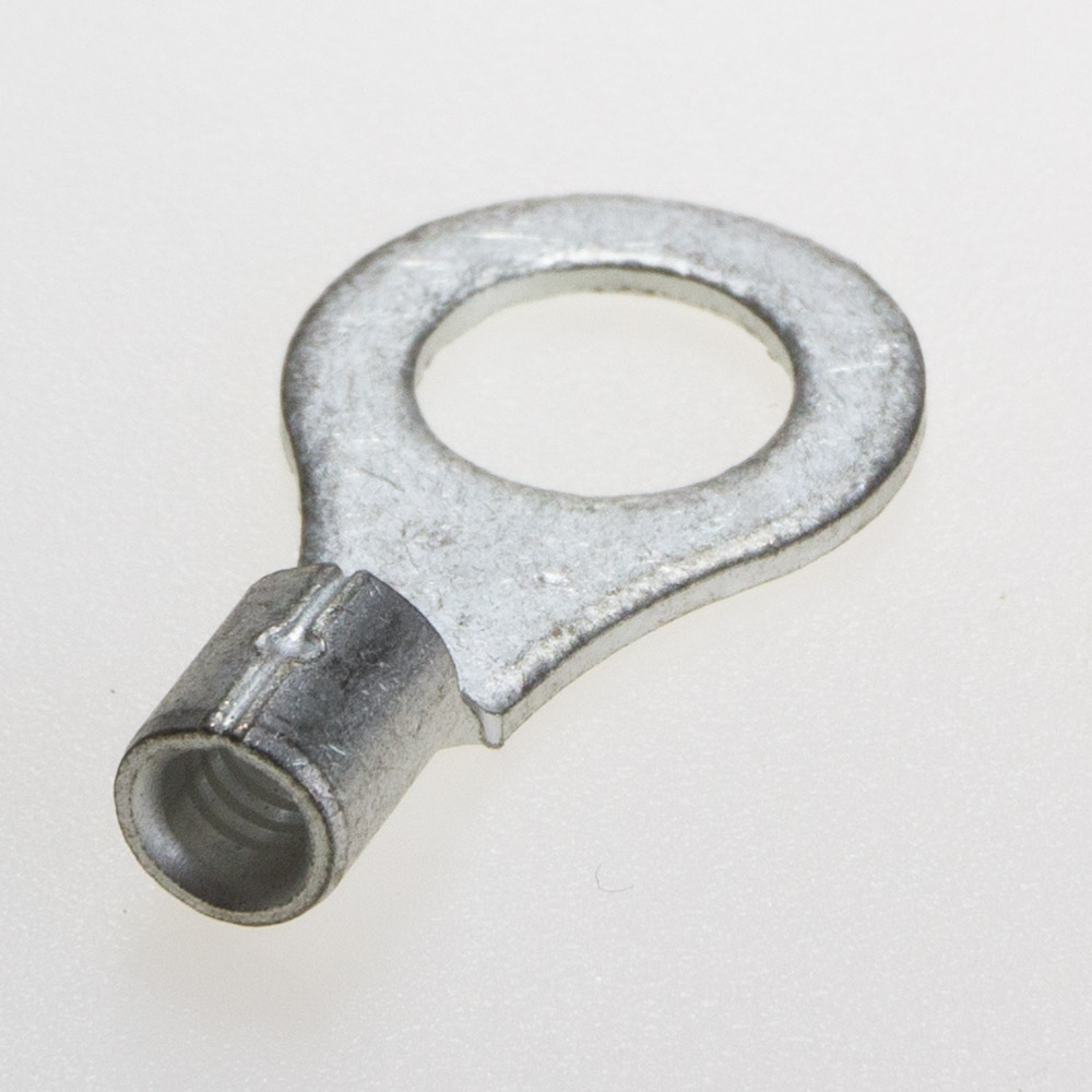 R5.5 銅線用裸圧着端子 (R型)丸形 バラ売り ニチフ メール便
