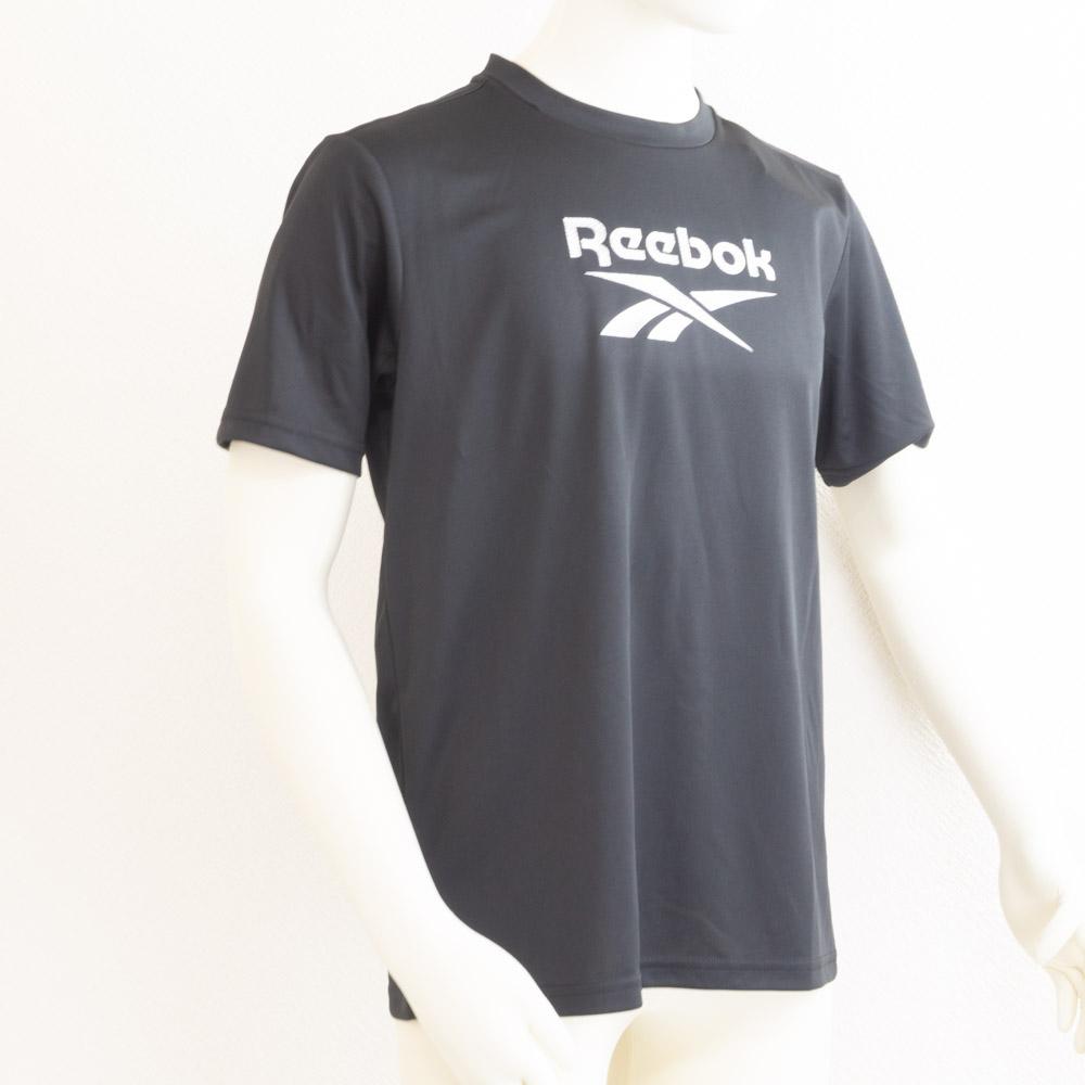 UVカットTシャツ ブラック リーボック(Reebok) メール便