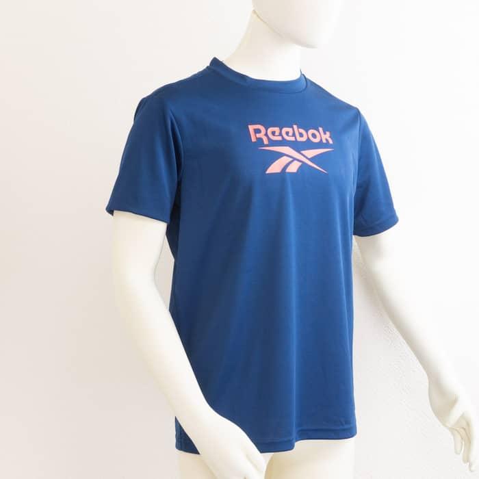 UVカットTシャツ ネイビー リーボック(Reebok) メール便