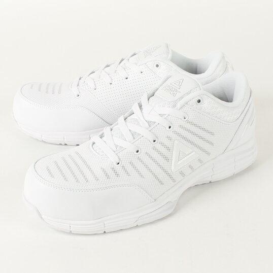 WOK-4505 安全靴 ホワイト ピーク(PEAK) 当日出荷